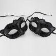 Sexy mask women black lace venetian masquerade carnival party ball fox cat face