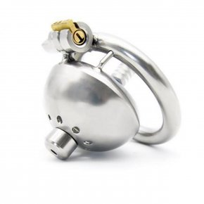 Super Small Male Chastity Device With Urethral Catheter Sex Toys For Men Stainless