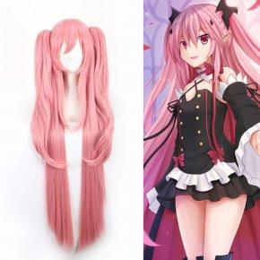 Anime Long Pink Cosplay Wig Owari no Seraph