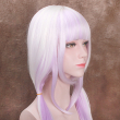80cm KannaKamui Pink Cosplay Synthetic Anime Wig