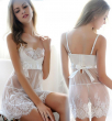 2016 Sexy Lingerie Hot Underweaad Plus Size underwear White sweet Lady Pajama Lace