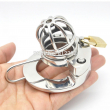 2017 NEW Super Small Male Cock Cage Adult Chastity Device With Urethral Catheter