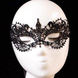 20PCS Black Vintage Sexy Venetian Mask Women Elegant Prom Party Lace Eye Face Mask