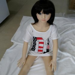 128cm real silicone sex dolls skeleton Japanese adult mini lifelike anime oral love dolls