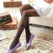2017 Women Rose Tattoo Tights Sexy Women Silk Stockings Thin Female Pantyhose Stock