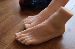 Men porn Feet Fetish Toys sex products big foot silicone feet real doll male feet