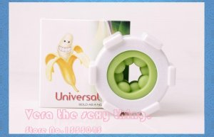 YouCups Universal Ring, Green Beads , Masturbators, Super Stretchy Massager, Penis