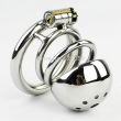 New Male Chastity Device 60MM Adult Cock Cage BDSM Sex Toys For Men Stainless Steel