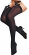 Delicate Hot Women's High Overknee Bowknot Velvet Silk Stockings Sexy Tights Oct22