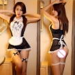 women sexy lingerie hot lace cosplay French Maid uniform sexy costume babydoll eroti
