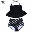 NAKIAEOI 2017 New Bikinis High Waist Swimsuit Women Tankini Bathing Suit Bikini