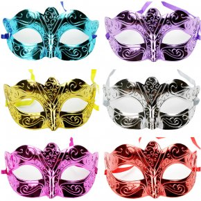 Halloween Masquerade Sexy Lady Painted Lace Mask Woman masquerade masks