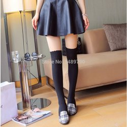 2014 fashionable knit Cute Girls Women Sexy Sheer Pantyhose Hose Tights Silk Stockin
