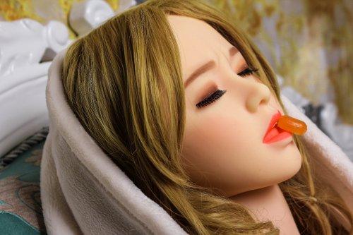 2018 new platinum silicone realistic lifelike 158cm doll