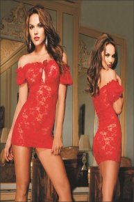 red modern nightclubs clothing