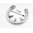 Stainless steel male chastity device small cage metal chastity cage chastity belt