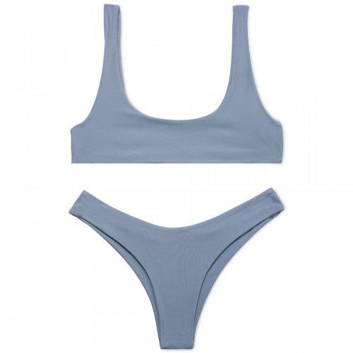 Cobunny Brand New Style Beach Swimsuit Women Sexy Bikini 2017 Sport Bikini Set Backl