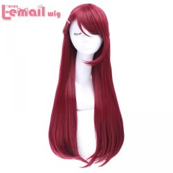 L-email wig High Quality Women Cosplay Wigs Love Live! Sunshine!! Sakurauchi Riko