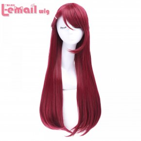 L-email wig High Quality Women Cosplay Wigs Love Live! Sunshine!! Sakurauchi Riko