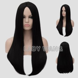24 inch Long Blonde Wigs Good quality resistant synthetic women wigs Cosplay Golden