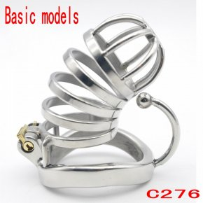 Latest Design stainless Steel chastity belt stainless steel penis lock chastity