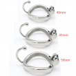 New design stainless steel male chastity belt lock clasp,cock ring,penis sleeve