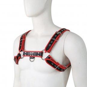 PU Leather Male Chest Harness Bondage Slave Fetish Restraints Straps Belts Sex Products Adult Toys Club Costumes Props For Men