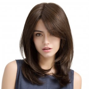 Lace Front Wavy Remy Human Hair Fabulous Long Wigs