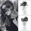 2Pcs Design Women Costume Eye Mask Sexy Lace Eye Mask Venetian Masquerade Ball Hallo