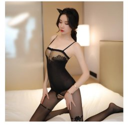 New Arrival Sexy Lingerie Black color