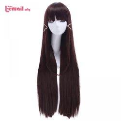 L-email wig Brand Anime Love Live!Sunshine!! Women Cosplay Wig Kurosawa Dia Dark