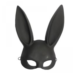 X-MERRY TOY Party Mask Masquerade Rabbit Mask Sexy Bondage Bunny Long Ears Carnival