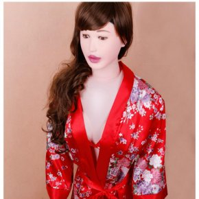 155cm 1.8Kg Oral Vagina Anal Breast Sex Doll Inflatable Doll Silicone Sexual Interc