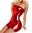 women hot sexy lingerie costumes Sexy glisten Metallic PVC FAUX LEATHER Underwear