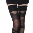Hot sell summer black jacquard silk stockings Female Sexy stockings