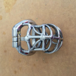 Open Mouth Snap Ring 6.5cm cage Steel chastity belt male chastity belt male chastit