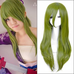 70cm Green Long Straight Anime Kagerou Project Kido Cosplay Harajuku Women's Wigs