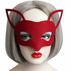 1PCS Hot Sales Red Sexy Lady Mask Eye Mask For Masquerade Party Fancy Dress Costume