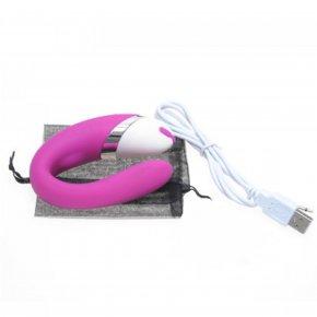 USB Rechargable/USA Plug G Spot Vibrator Silicone 12 Speed Vibe Clitoris stimulator