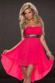 rose sexy dress