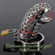 Snake Totem 85mm Male Chastity Device Special Belt Stainless Steel Penis Sleeve