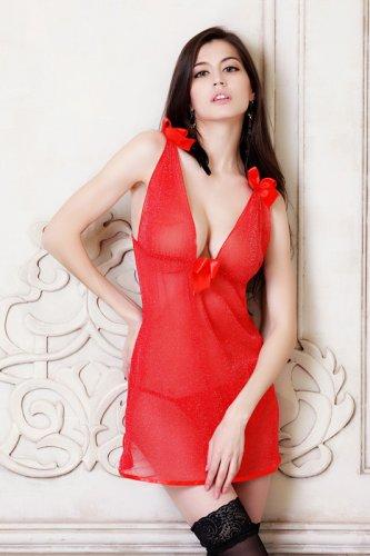 red sexy underwear