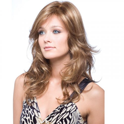 Fashion Sexy Hair Wigs Fluffy Wave Lace Front Wig Glueless Full Lace Wig Women
