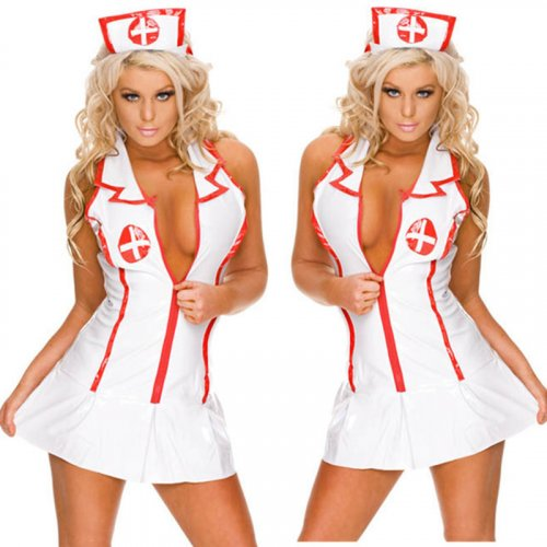 Hot Sexy Nurse Costume Erotic Costumes Role Play Women Erotic Lingerie Female