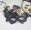 50pcs/lot New Fahion Mask Masquerade Party Mask Black Lace Sexy Mask Wedding Suppli
