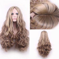 high quality women hair wigs cheap blonde ombre wig resistant pastel lolita long