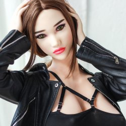 New mold 169cm big round breast big tits sex doll for men with muscle