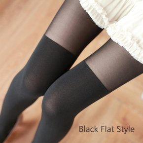 2017 New Sexy Women Silk Stockings Velvet Women Tights Japanese Style Hosiery N