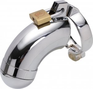 Hot Sale Metal Cock Ring Male Chastity Belt Ball Stretcher Penis Rings Stainless