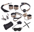 Couples Flirt fun Adult Sex Toys Role Play Kit Women Sexy Dress Rope Ball Gag Handcu
